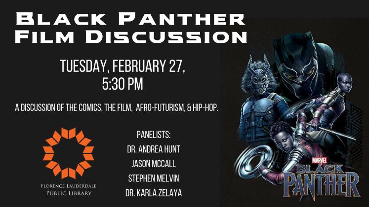 Black Panther Film Discussion Slider